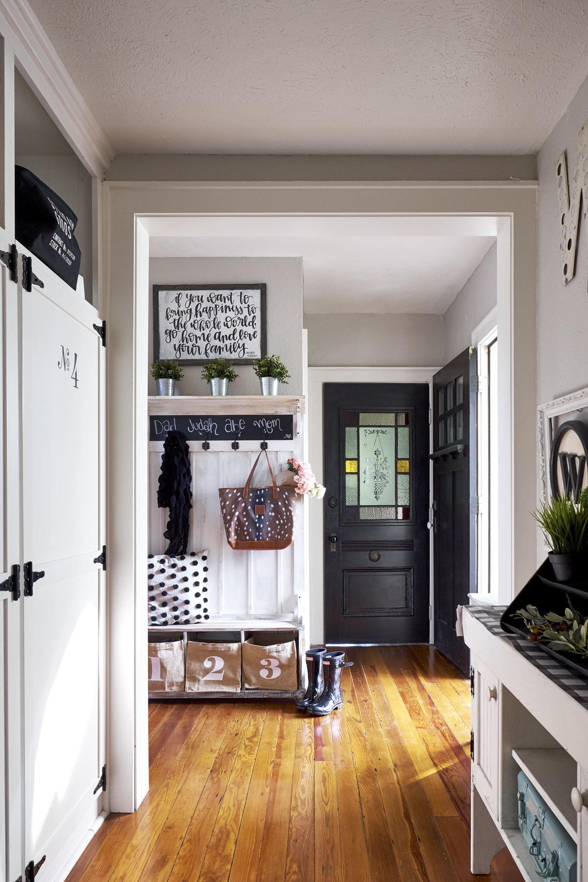 mudroom drop zone ideas