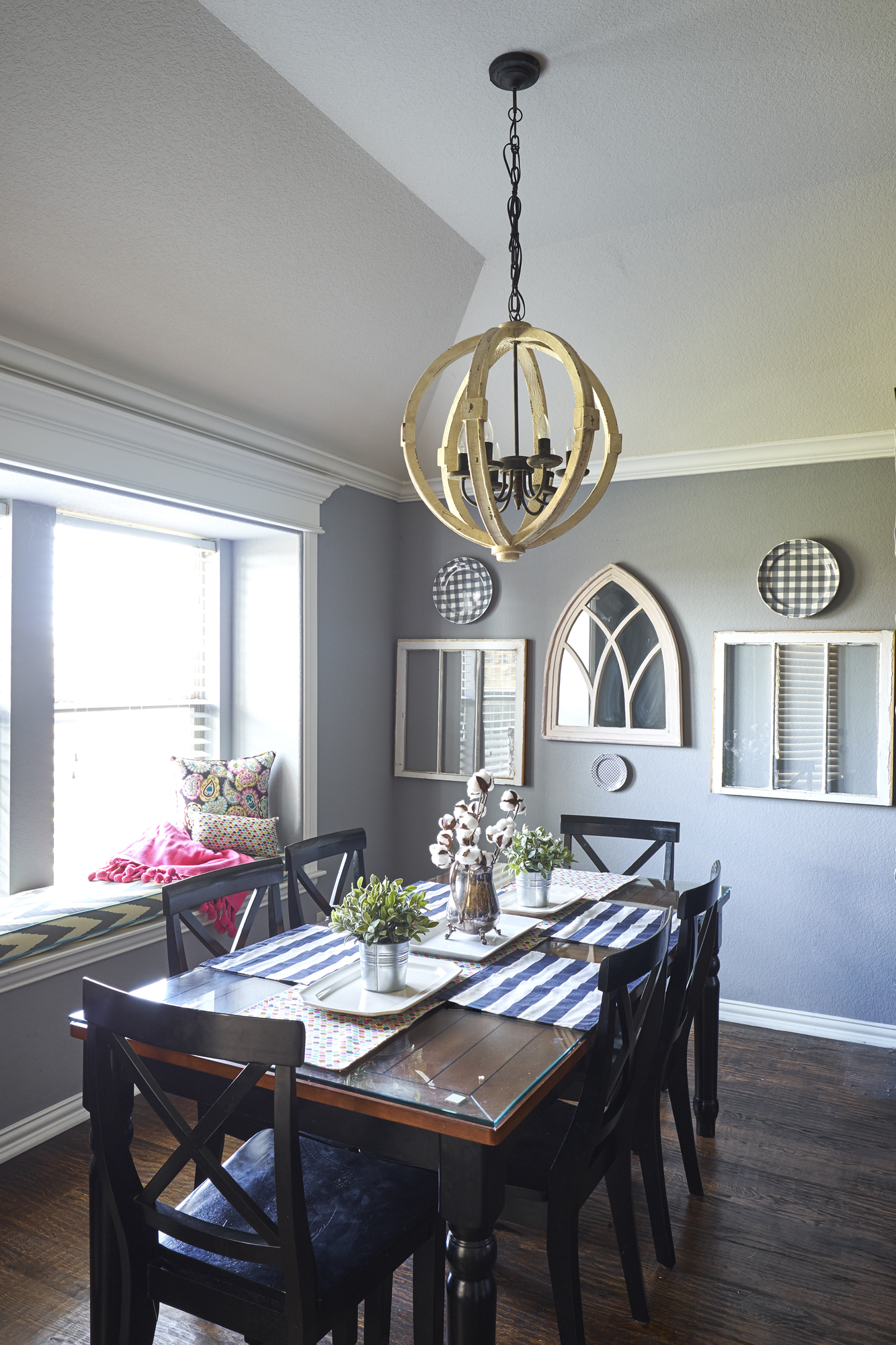 It Wasn T The Farmhouse Style Kitchen Homeowner Wanted Design To Trickle Into Dining Room