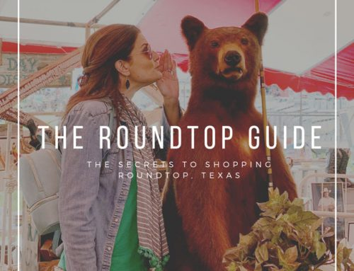 Expert's Guide to Round Top Texas Antiques Week and 5 Shopper Tips