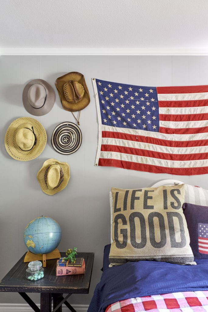 vintage flag decor ideas