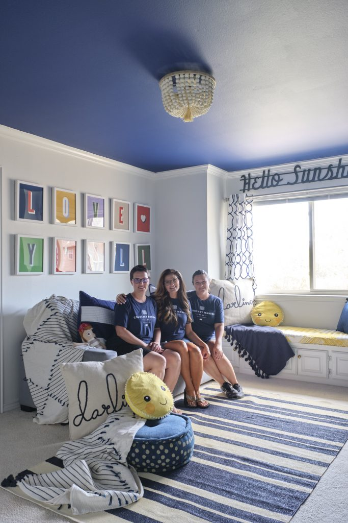 dallas designer gender neutral playroom