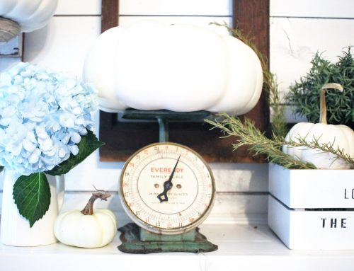 How to Effortlessly Style a Fall Mantel in 3 Ways