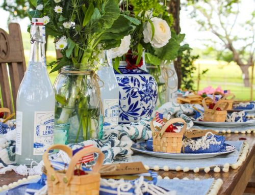4th of July Tablescape – Hosting a Patriotic Festival at Home or Away